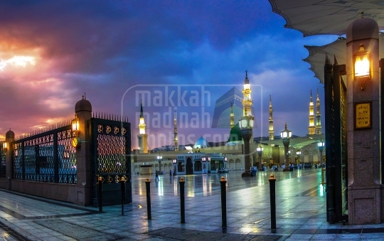 A view from Southern side, Madinah.