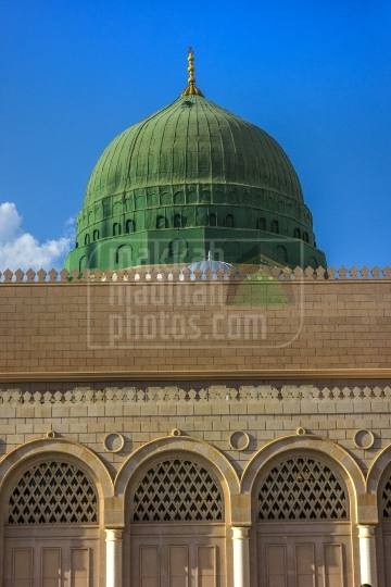 Green Dome view from South side.
