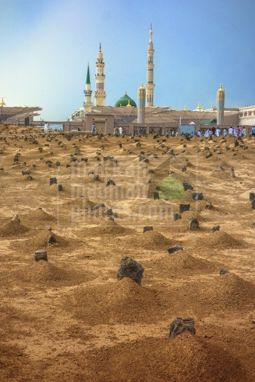 A shot from Baqie' (Cemetery), Holy Mosque