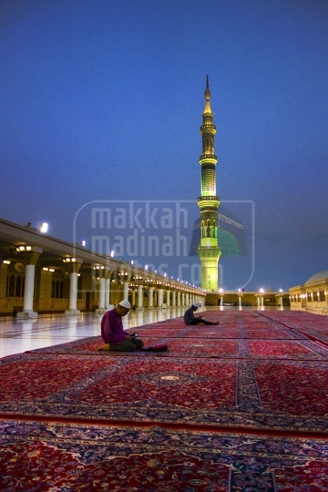 A shot from the roof, Masjid nabawi