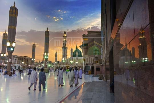 A view from Eastern side, Madinah.