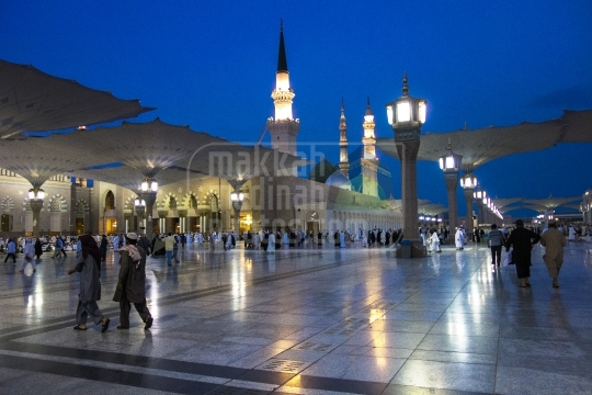 A view from western side, Madinah.