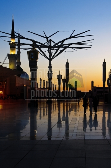 Before Sunrise, Haram Nabawi Sherif