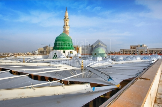 Green Dome, The Holy Prophet's Mosque