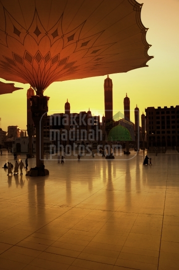 piazza of Masjid Nabawi