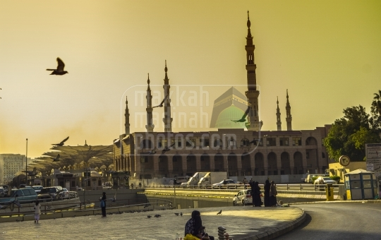 Sunrise time in Haram.