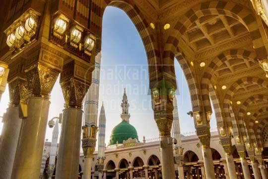 The Green Dome, Masjid Nabawi