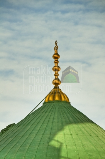 Top part of Green dome
