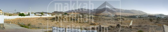 A Panoramic View of Badr battle field in Badr Hunayn