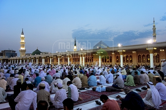 Eid Prayer from rooftop