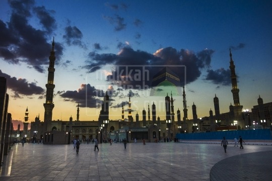 Evening shot, Madinah