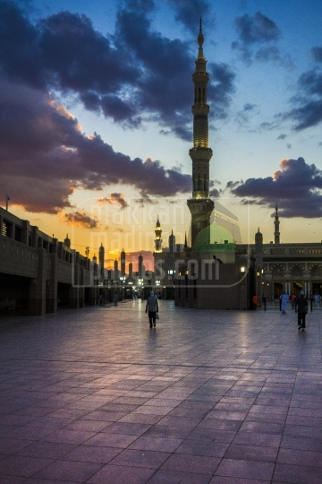 Evening shot, Masid Nabawi