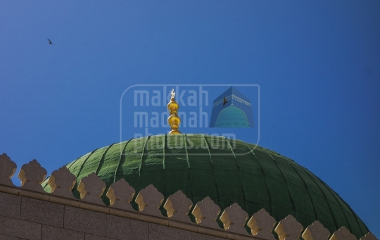 Green Dome , Madinah