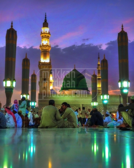 Green Dome at evening