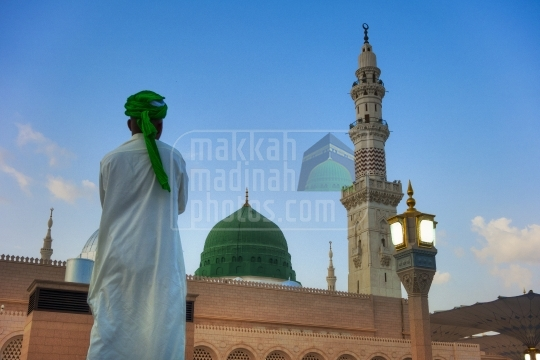 Green Dome, Holy Mosque