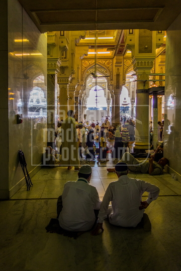 Inside Holy Mosque