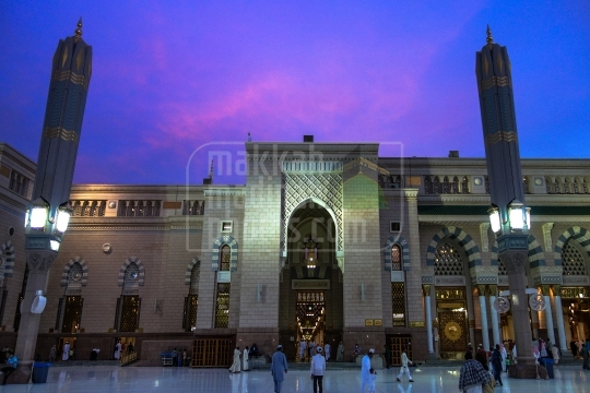 King Fahd Gate, Holy Mosque.