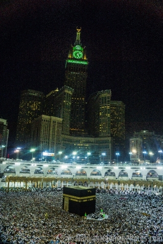 Makkah  a night view