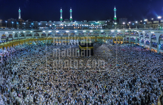 Makkah the crowed of Umrah pilgrims
