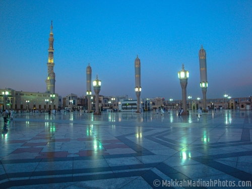 Minarets and Light stands