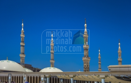 Minarets from rooftop