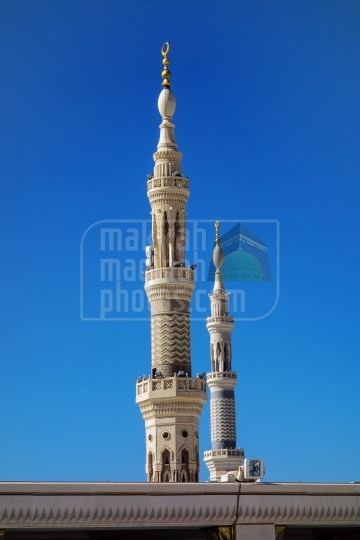 Minarets, Holy Mosque.