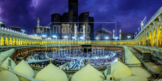 Panoramic View Makkah