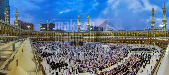 Panoramic View of Makkah Mukarramah