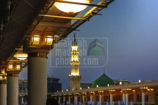 Roof top, Holy Mosque