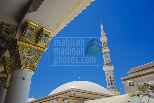 Rooftop,Masjid Nabawi.