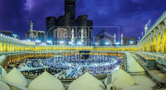 The Holy grand Mosque in Makkah