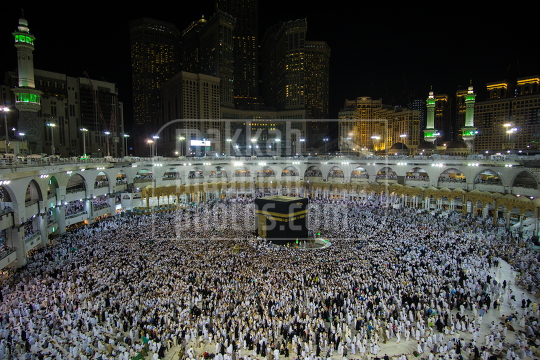 The Holy grand Mosque Makkah