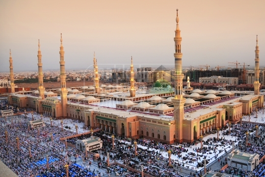 The Holy Prophet's Mosque.