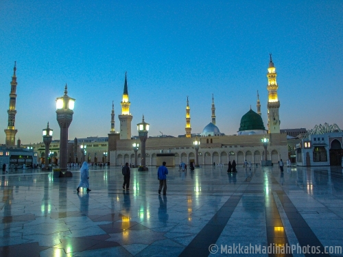The Holy Prophet's Mosque in Madinah