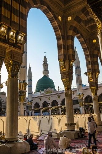 The Holy Prophet's Mosque in Madnah